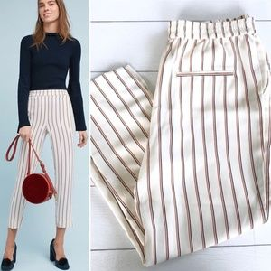 Anthropologie Striped Loose Pants